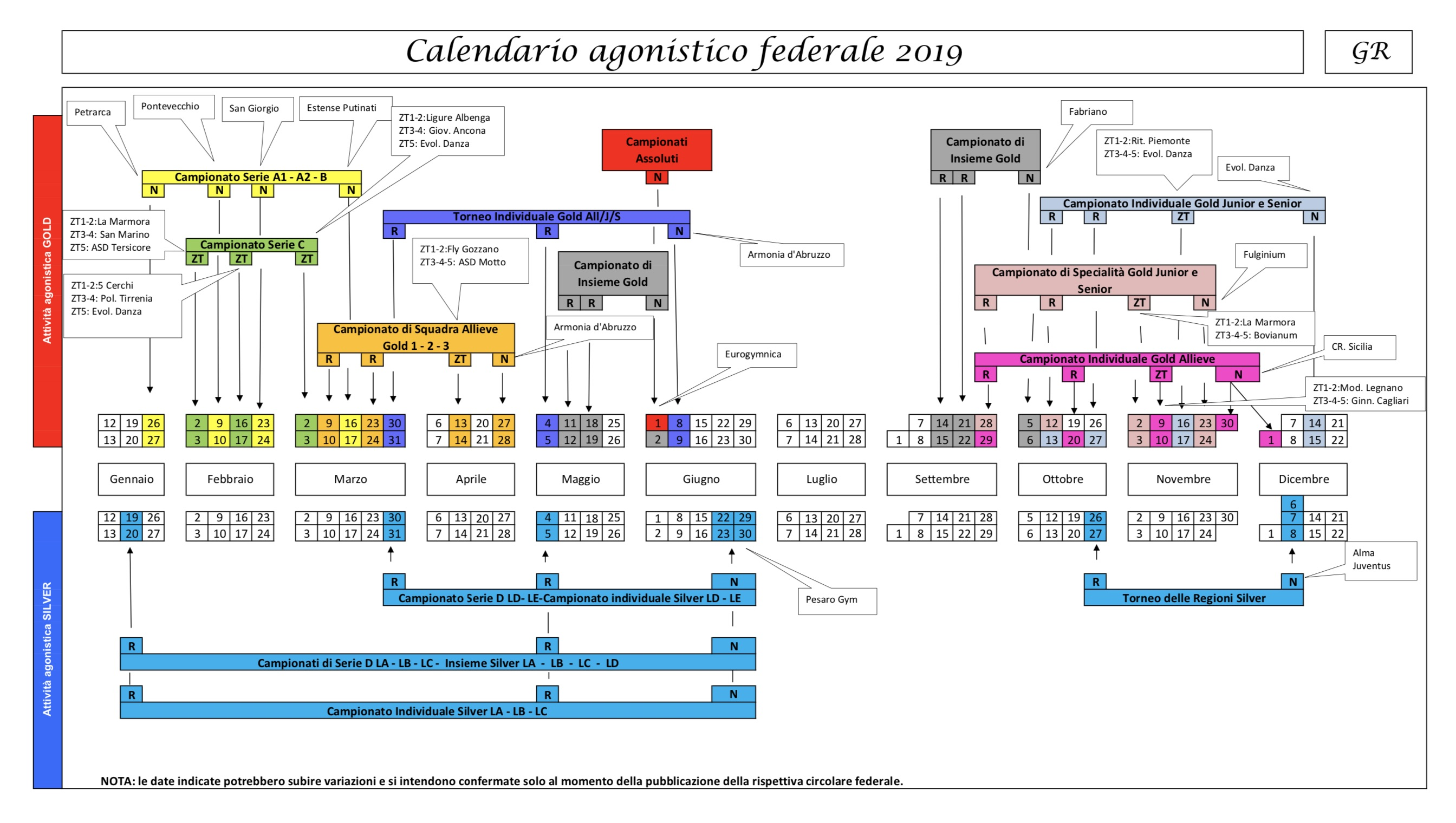 Fgi Calendario Gare 2020.Calendario Beatricevivaldi It